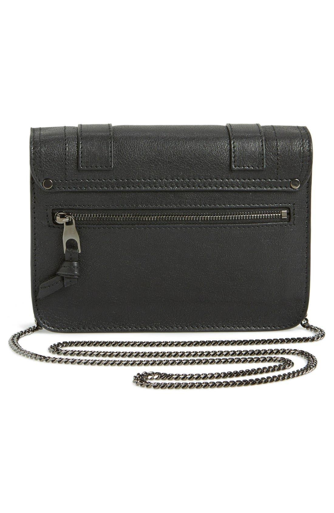 Alternate Image 4  - Proenza Schouler 'Large PS1' Leather Crossbody Wallet