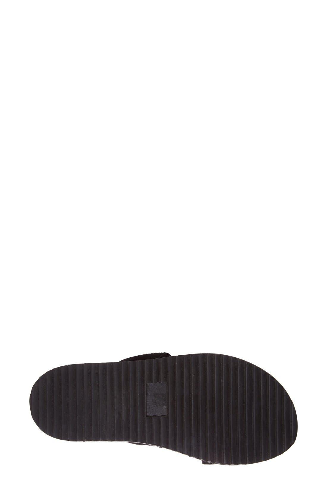 Alternate Image 4  - KG Kurt Geiger 'Monarch' Embellished Calf Hair Slide Sandal (Women)