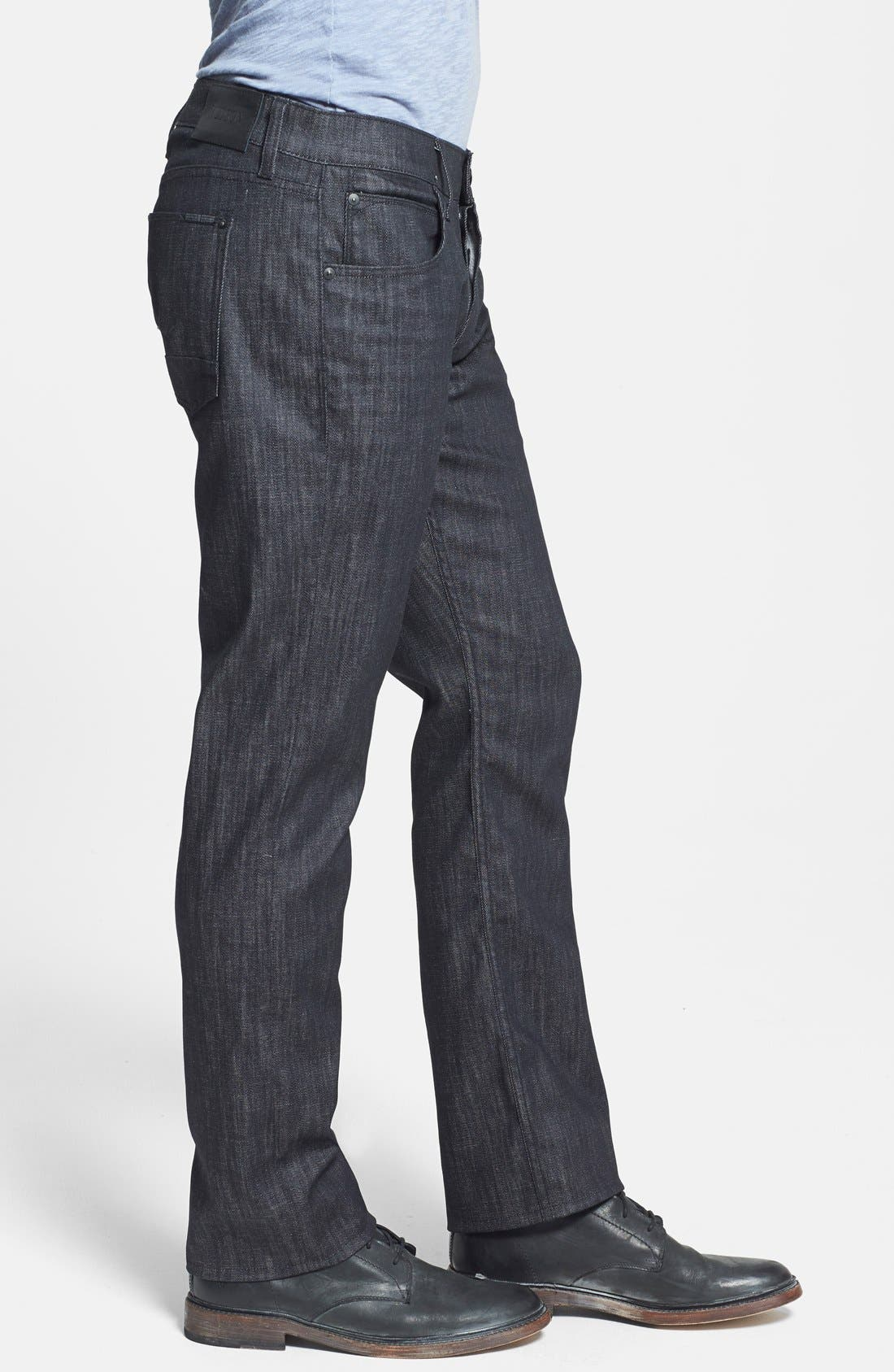 Alternate Image 6  - Hudson Jeans 'Byron' Straight Leg Jeans (Mogul)