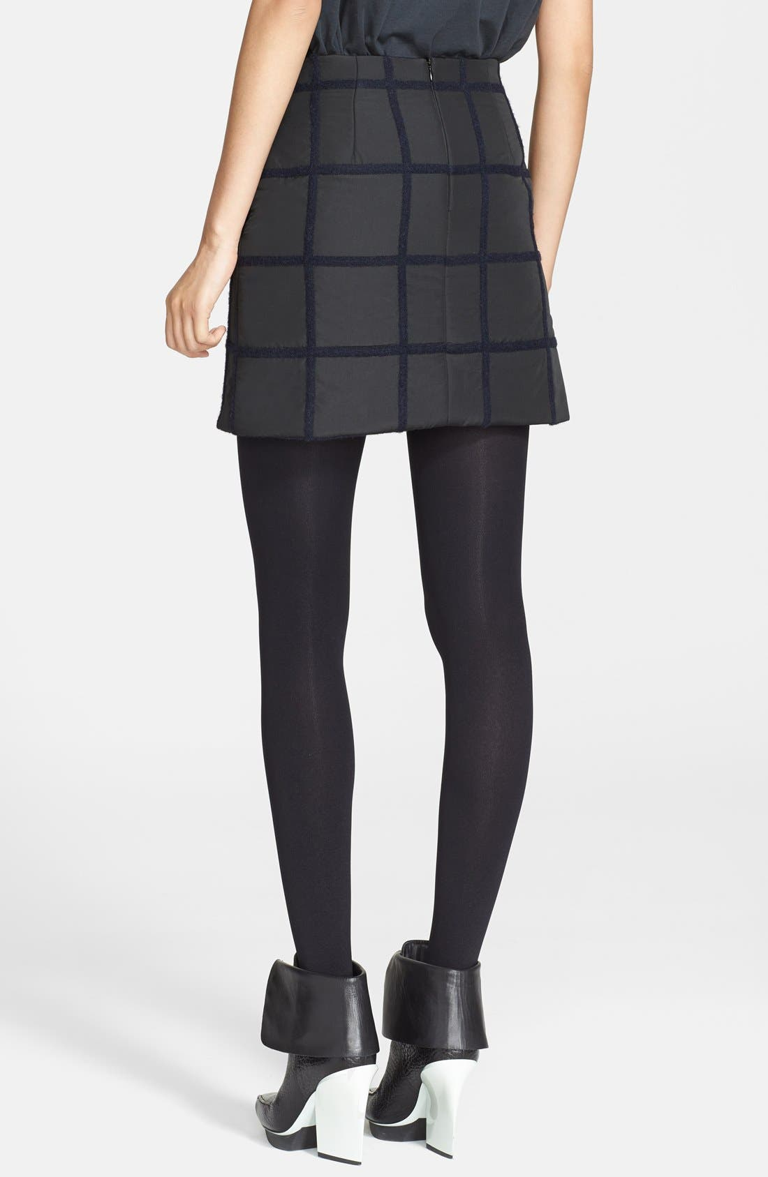 Alternate Image 2  - 3.1 Phillip Lim Grid Miniskirt