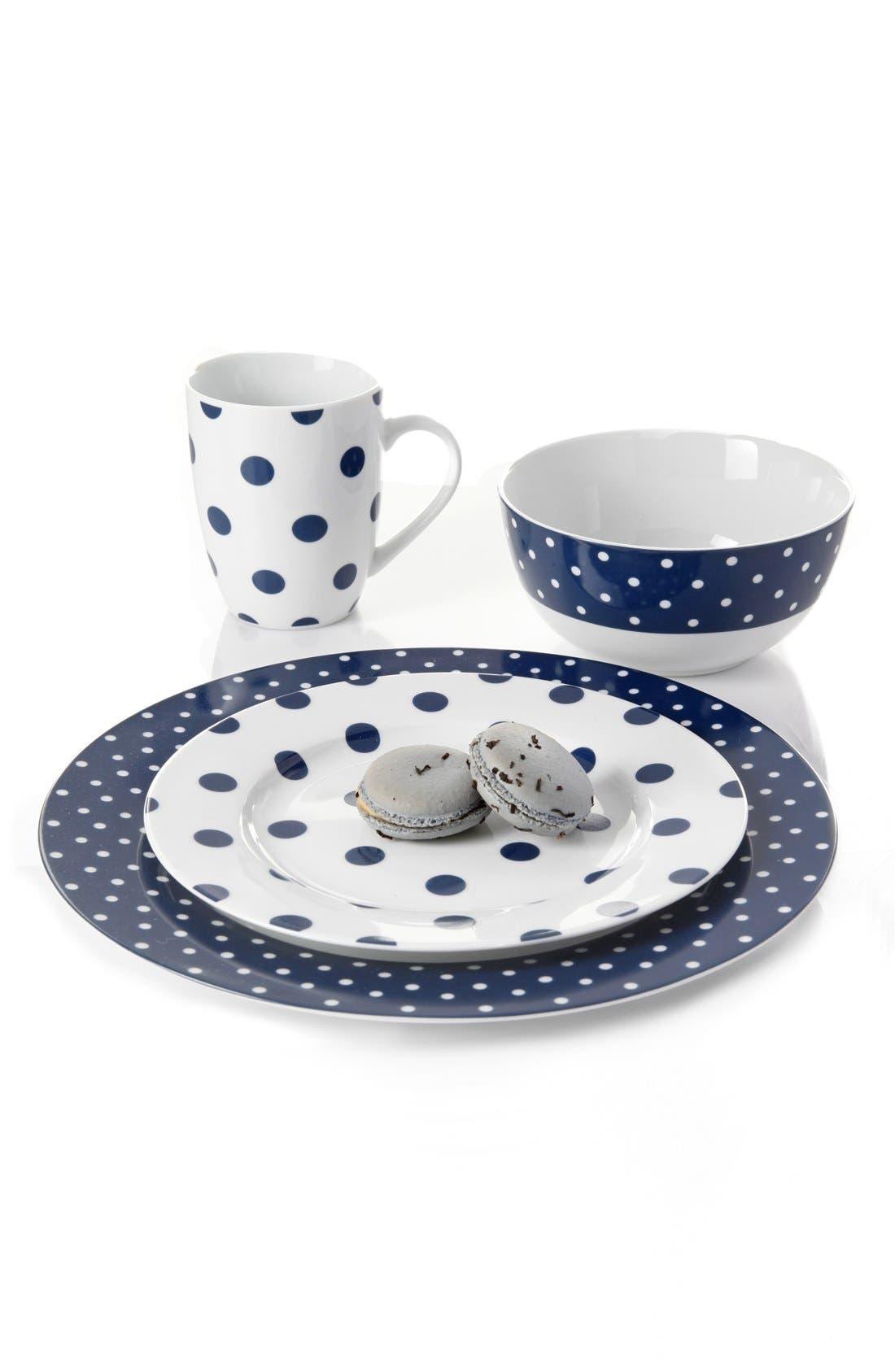 sc 1 st  Nordstrom & Isaac Mizrahi u0027Dot Luxeu0027 Porcelain Dinnerware Set | Nordstrom