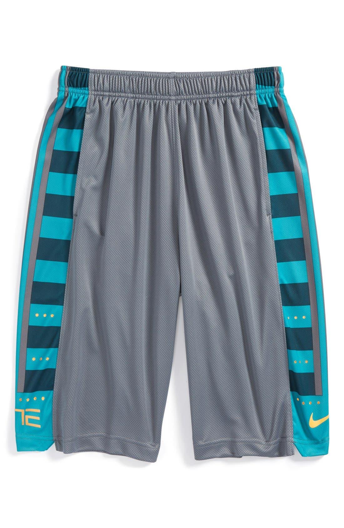 Alternate Image 1 Selected - Nike 'Fanatical' Dri-FIT Mesh Shorts (Big Boys)