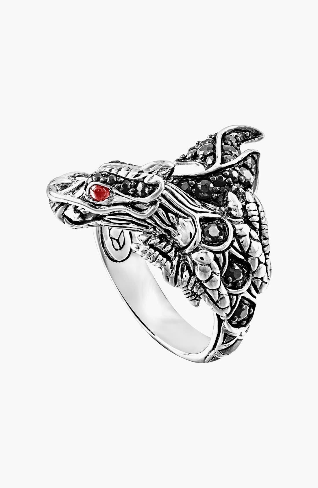 Alternate Image 1 Selected - John Hardy 'Naga - Lava' Dragon Cocktail Ring