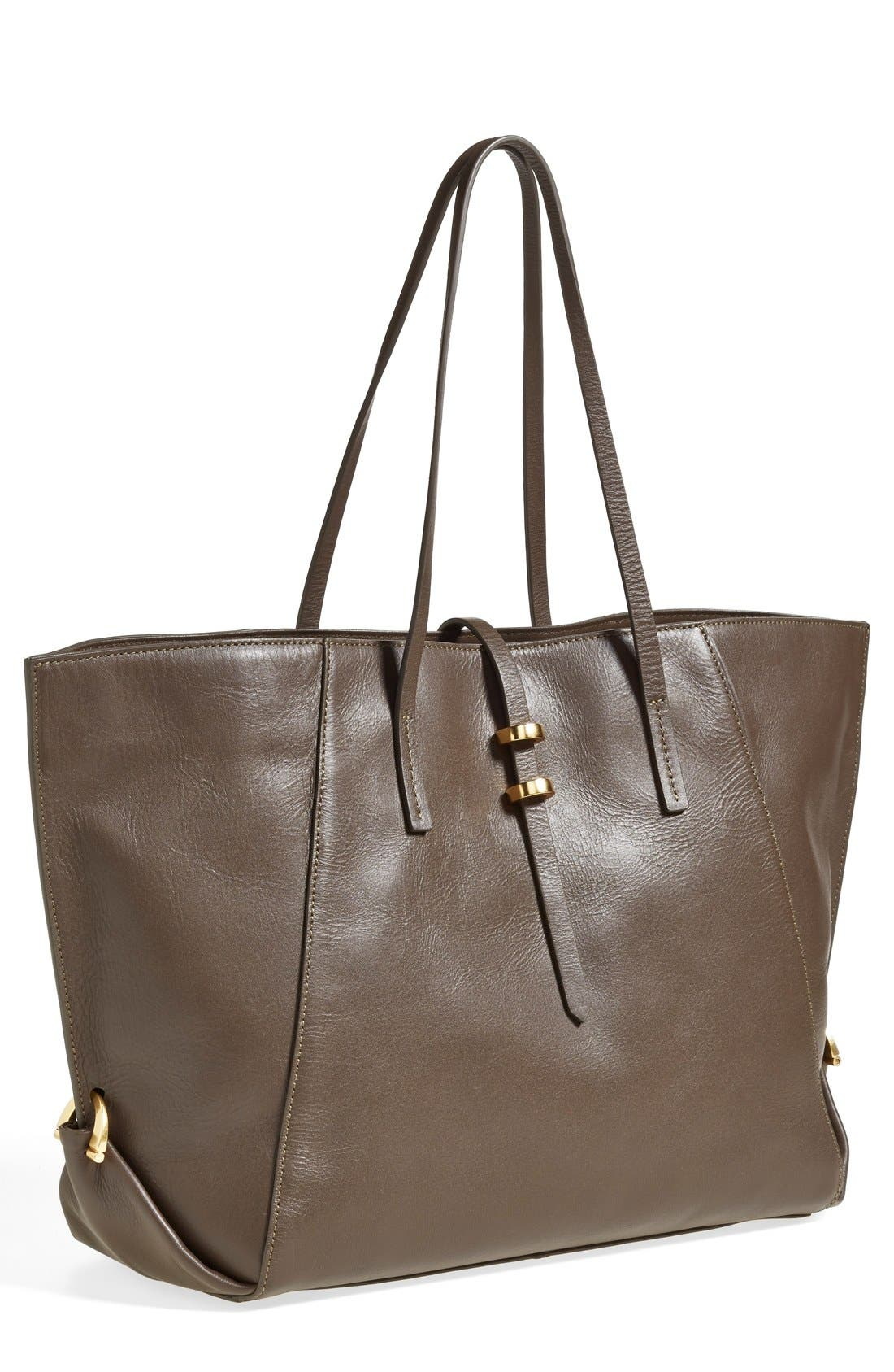 Alternate Image 1 Selected - ZAC Zac Posen 'Eartha' Leather Shopper