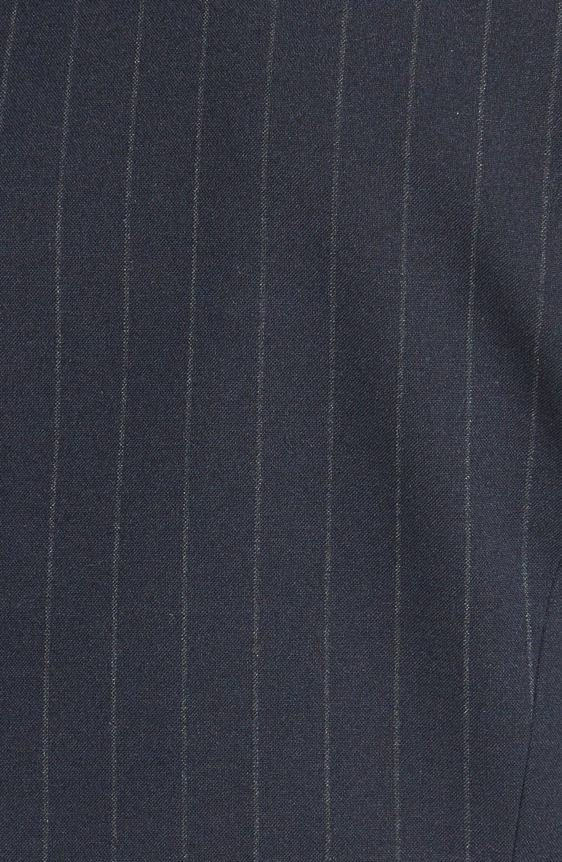 Alternate Image 3  - Vince Camuto One-Button Pinstripe Blazer