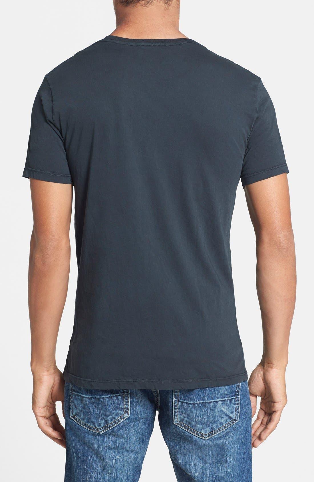 Alternate Image 2  - Scott Free 'Fired Up' Graphic V-Neck T-Shirt