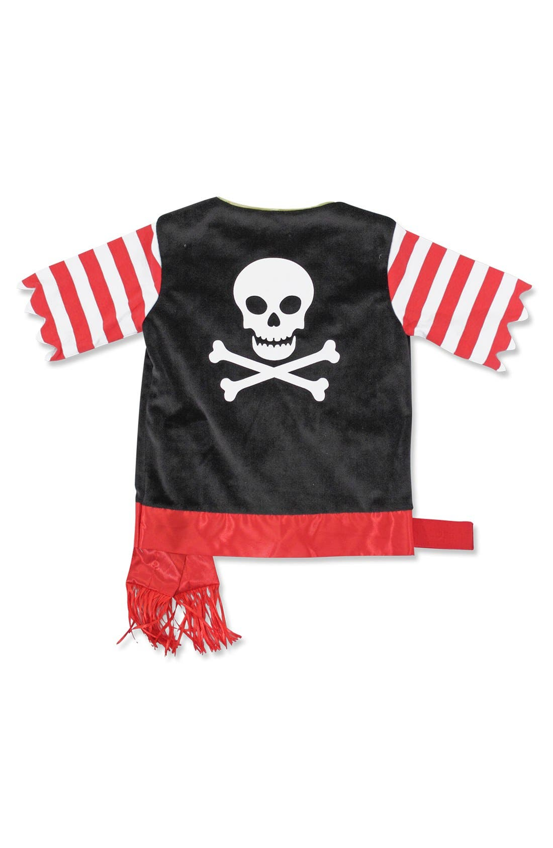Personalized Pirate Costume,                             Alternate thumbnail 4, color,                             Black