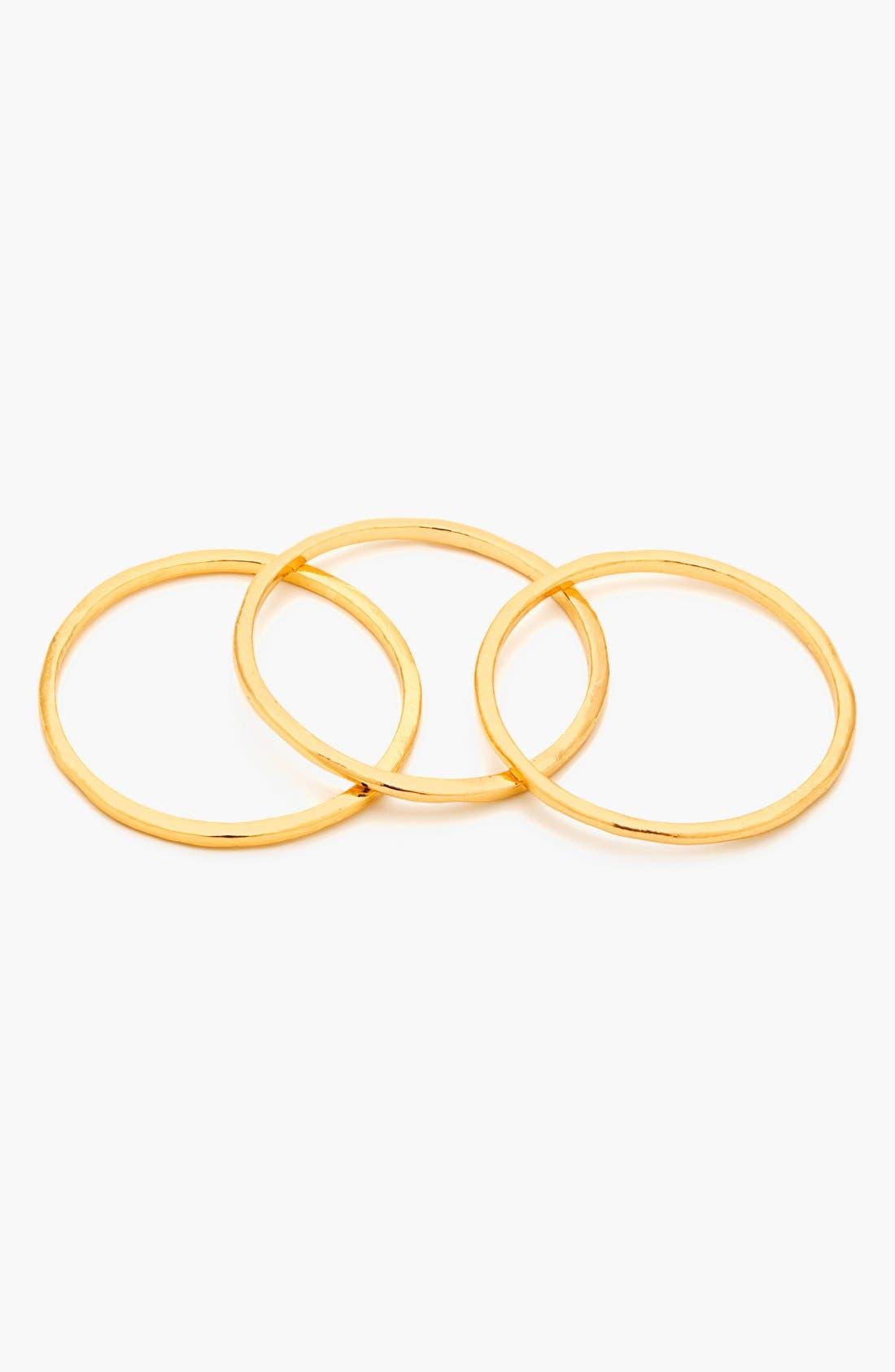 Alternate Image 2  - gorjana 'G Ring' Rings (Set of 3)