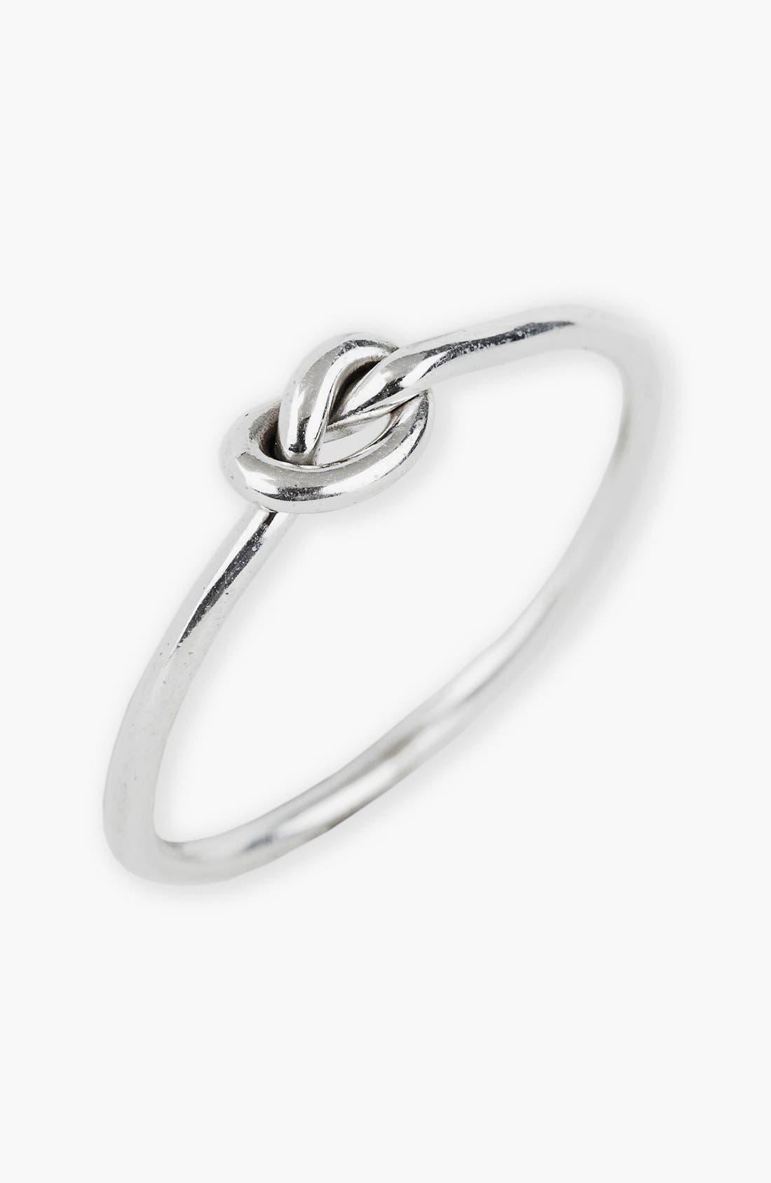 Alternate Image 1 Selected - Argento Vivo Mini Knot Ring