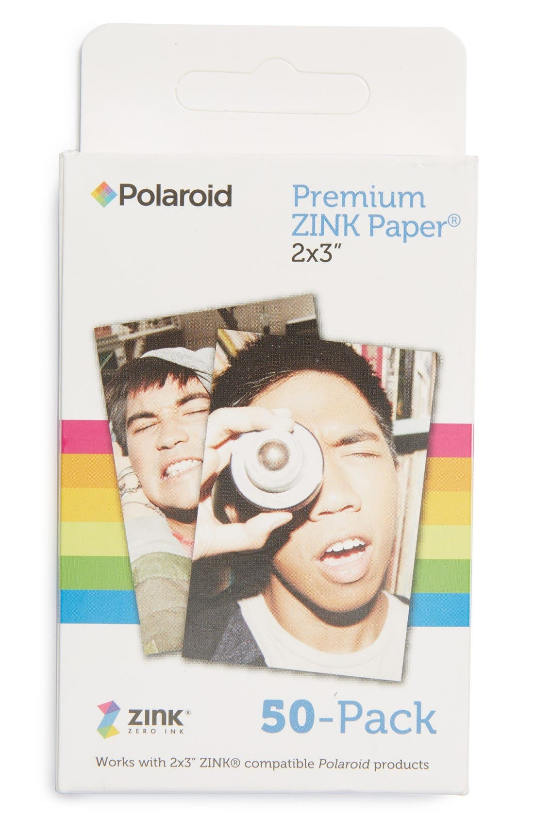Alternate Image 1 Selected - Polaroid ZINK® (Zero Ink) 50-Pack Instant Photo Paper