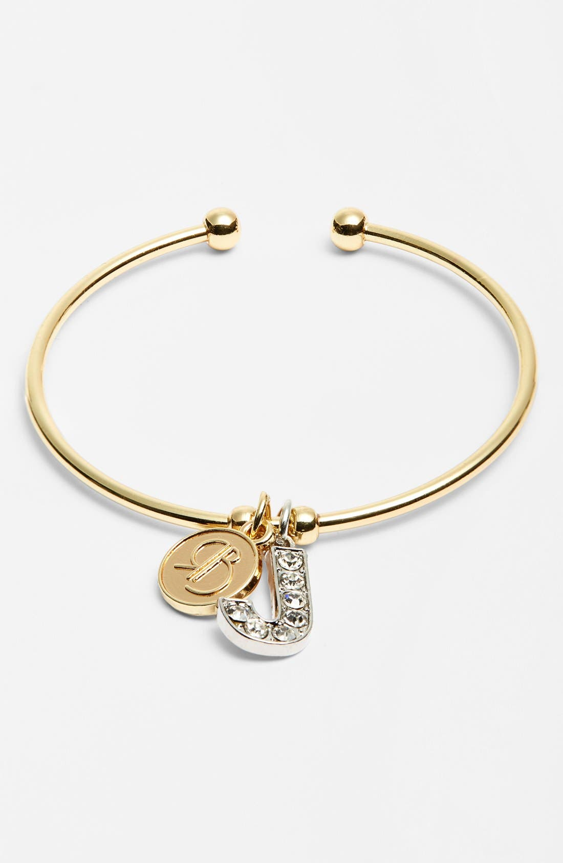Main Image - Rolf Bleu 'Madison - Initial' Bracelet