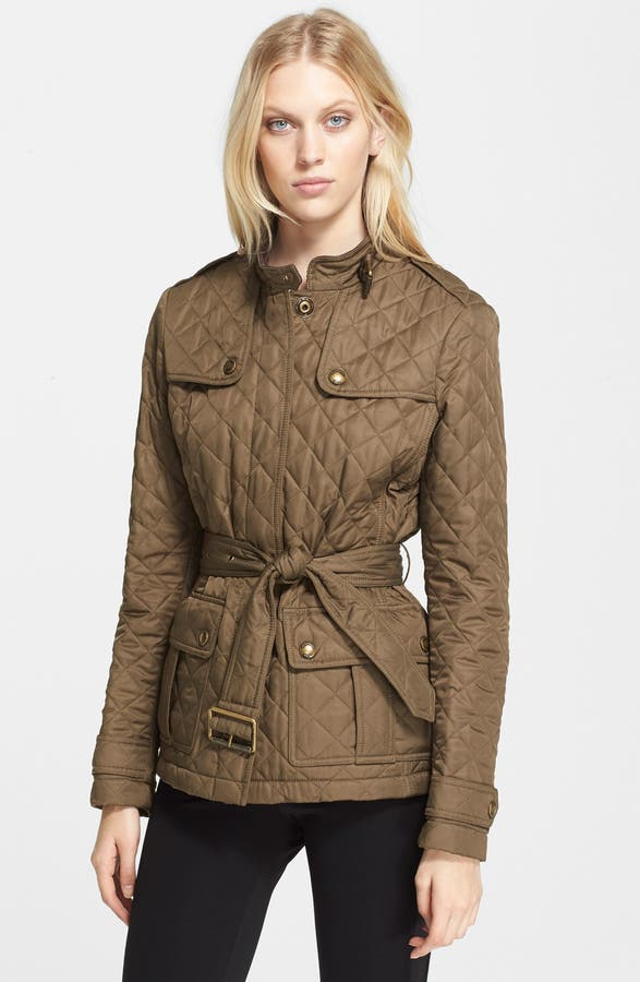 Burberry Brit 'Hawkesdale' Belted Quilted Jacket | Nordstrom : burberry quilted belted jacket - Adamdwight.com