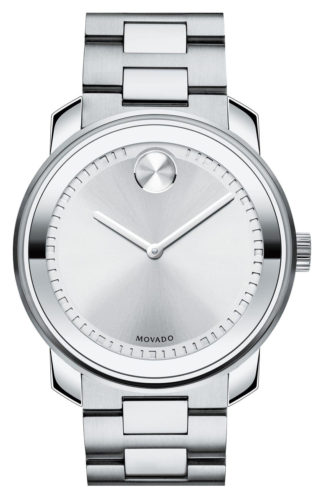 Alternate Image 1 Selected - Movado 'Bold' Bracelet Watch, 43mm