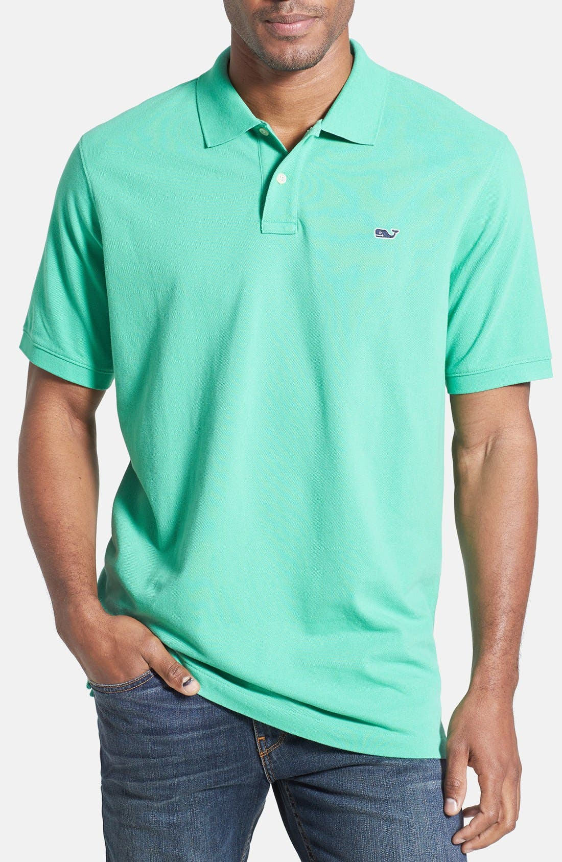 Alternate Image 1 Selected - Vineyard Vines 'Classic' Piqué Knit Polo