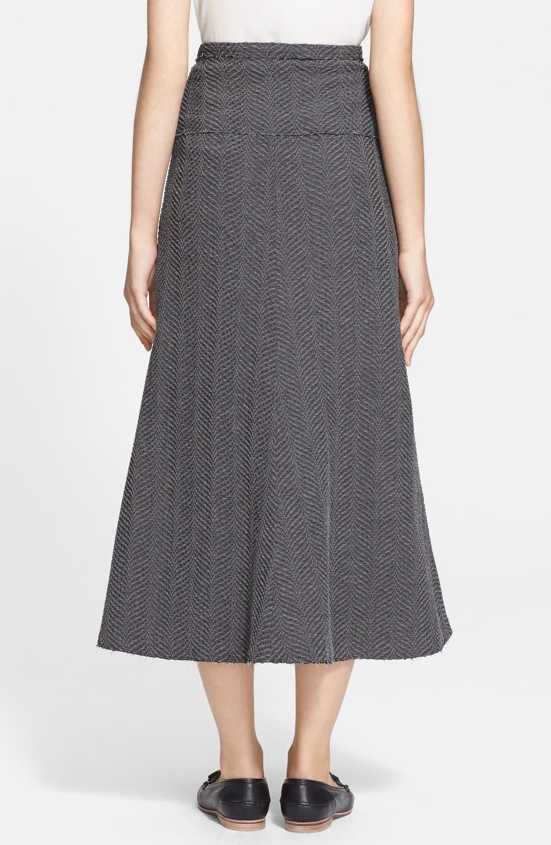 Alternate Image 2  - Tracy Reese Mélange Midi Skirt
