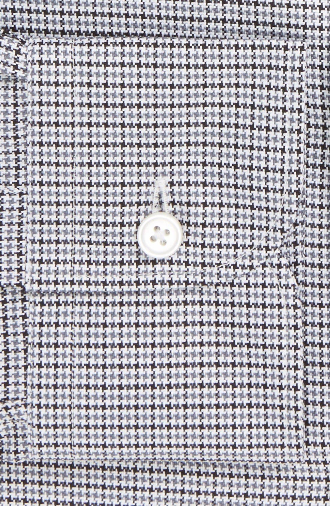Alternate Image 2  - Z Zegna Slim Fit Houndstooth Dress Shirt