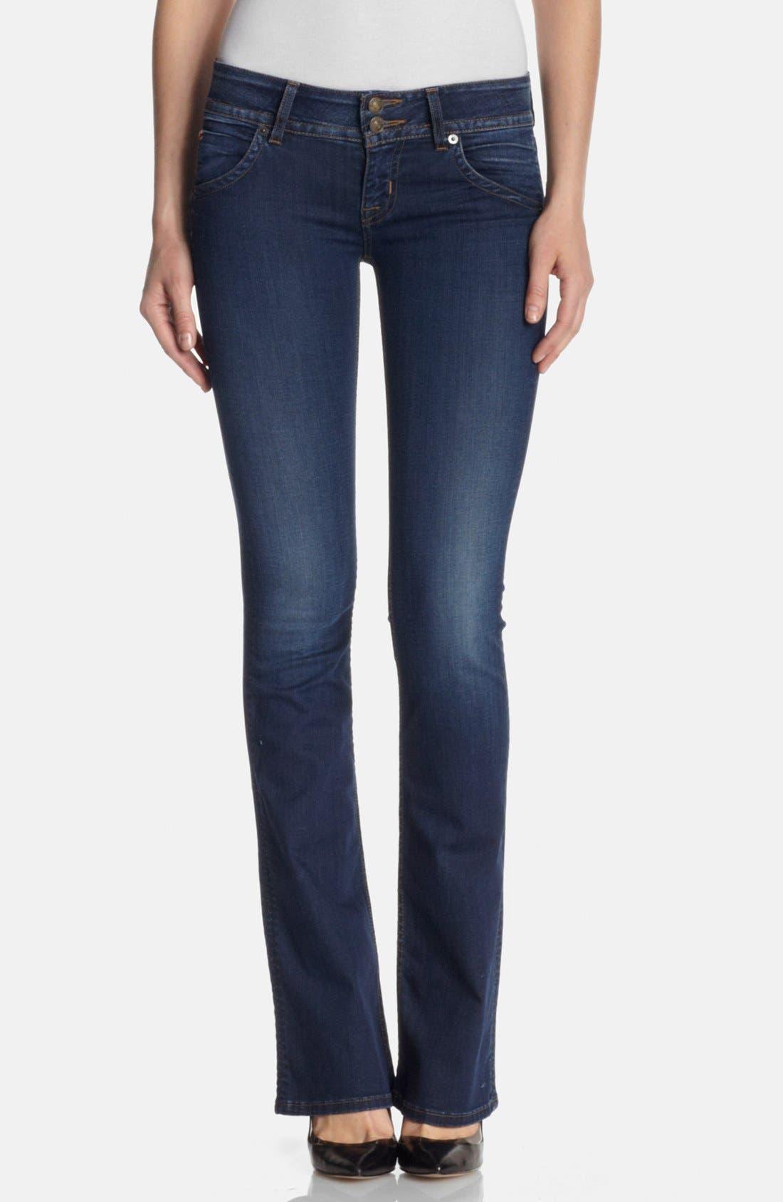Main Image - Hudson Jeans Signature Bootcut Jeans (Limelight)