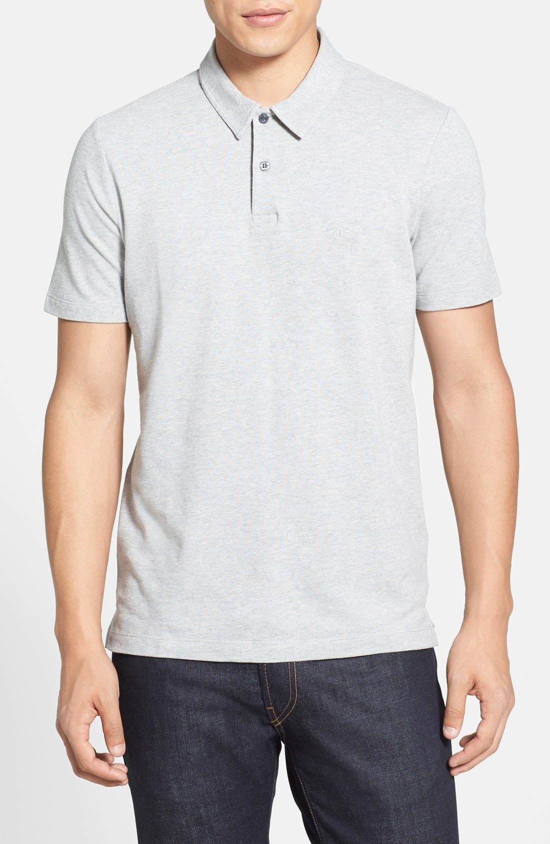 Main Image - Burberry Brit 'Cosway' Piqué Polo