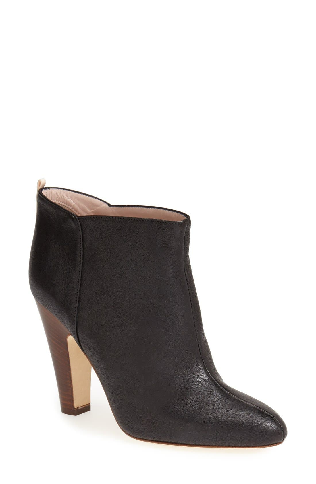 Alternate Image 1 Selected - SJP 'Serge' Leather Bootie (Women)