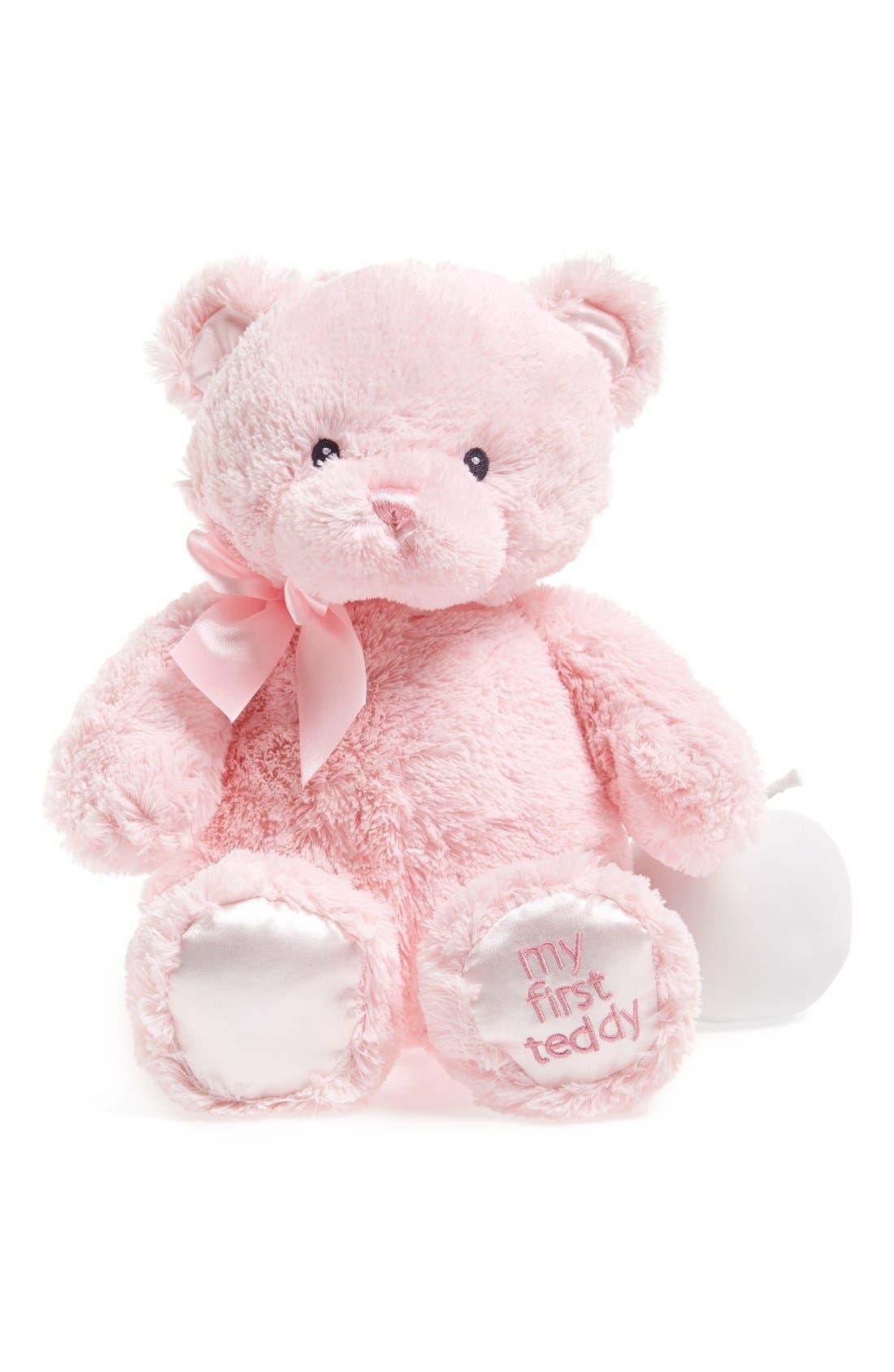Main Image - Baby Gund 'My First Teddy' Stuffed Bear