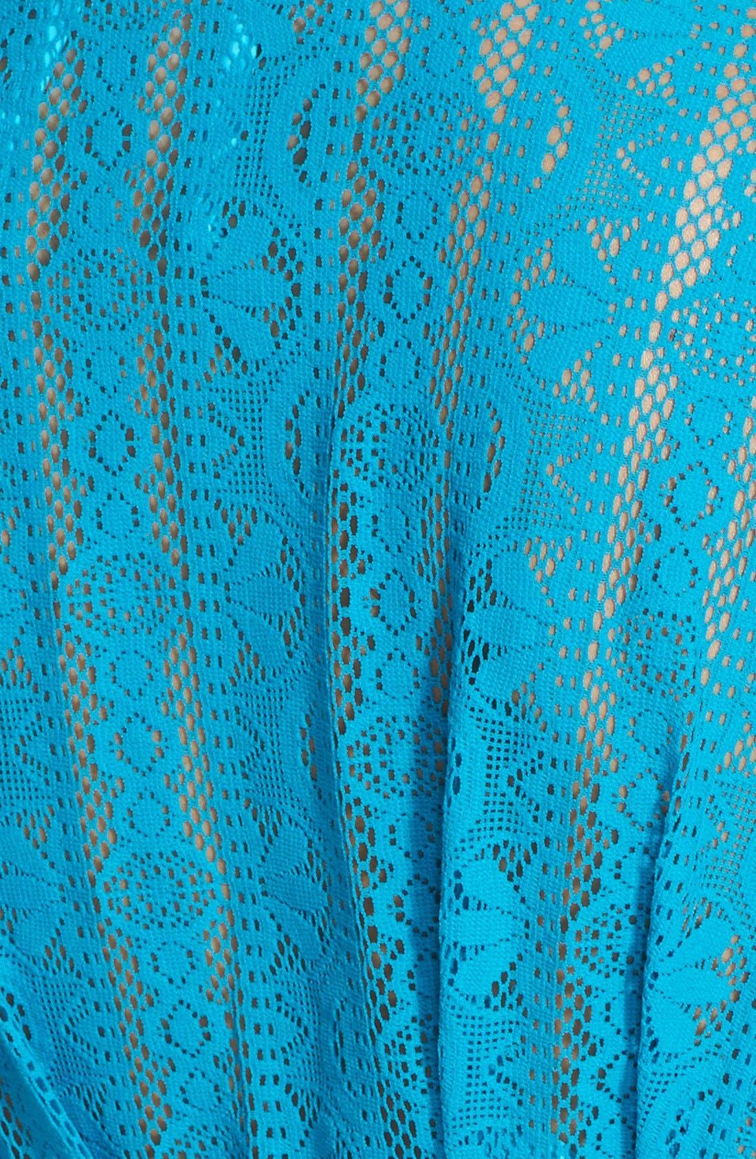 Alternate Image 3  - Becca 'Show & Tell' Crochet Cover-Up Tunic