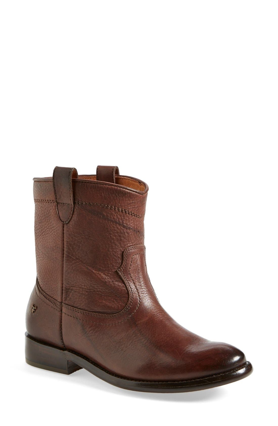 'Ada' Boot,                             Main thumbnail 1, color,                             Dark Brown