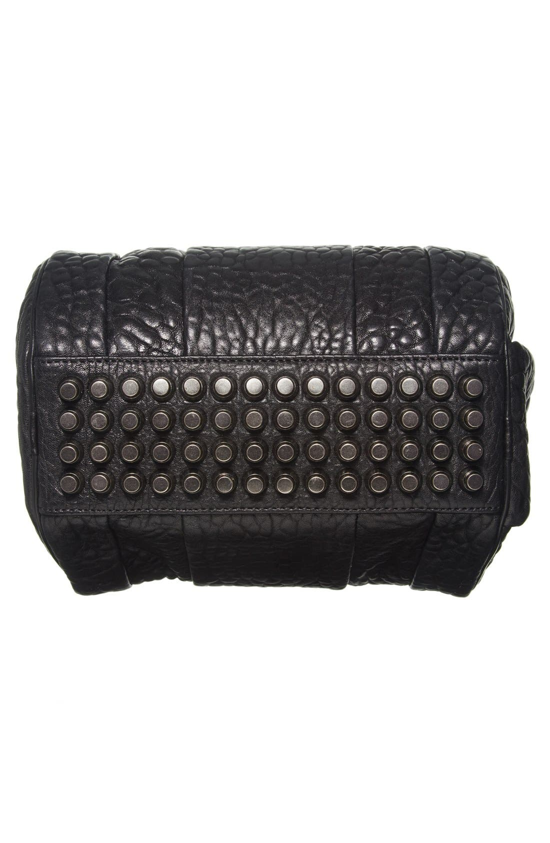 Alternate Image 6  - Alexander Wang 'Rockie - Black Nickel' Leather Crossbody Satchel