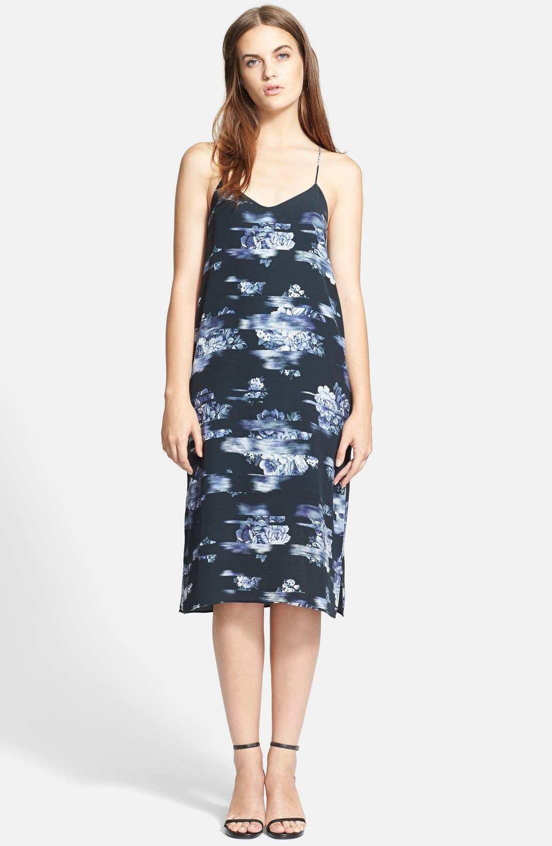 Alternate Image 1 Selected - Tibi 'Floreale' Slip Dress