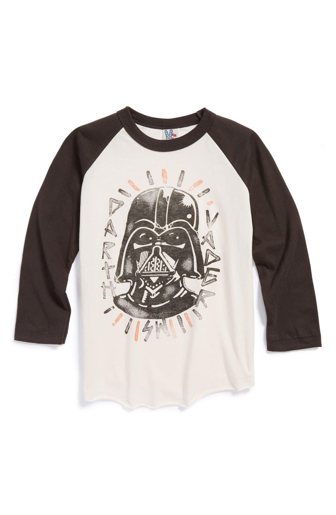 Alternate Image 1 Selected - Junk Food 'Darth Vader' T-Shirt (Toddler Boys)