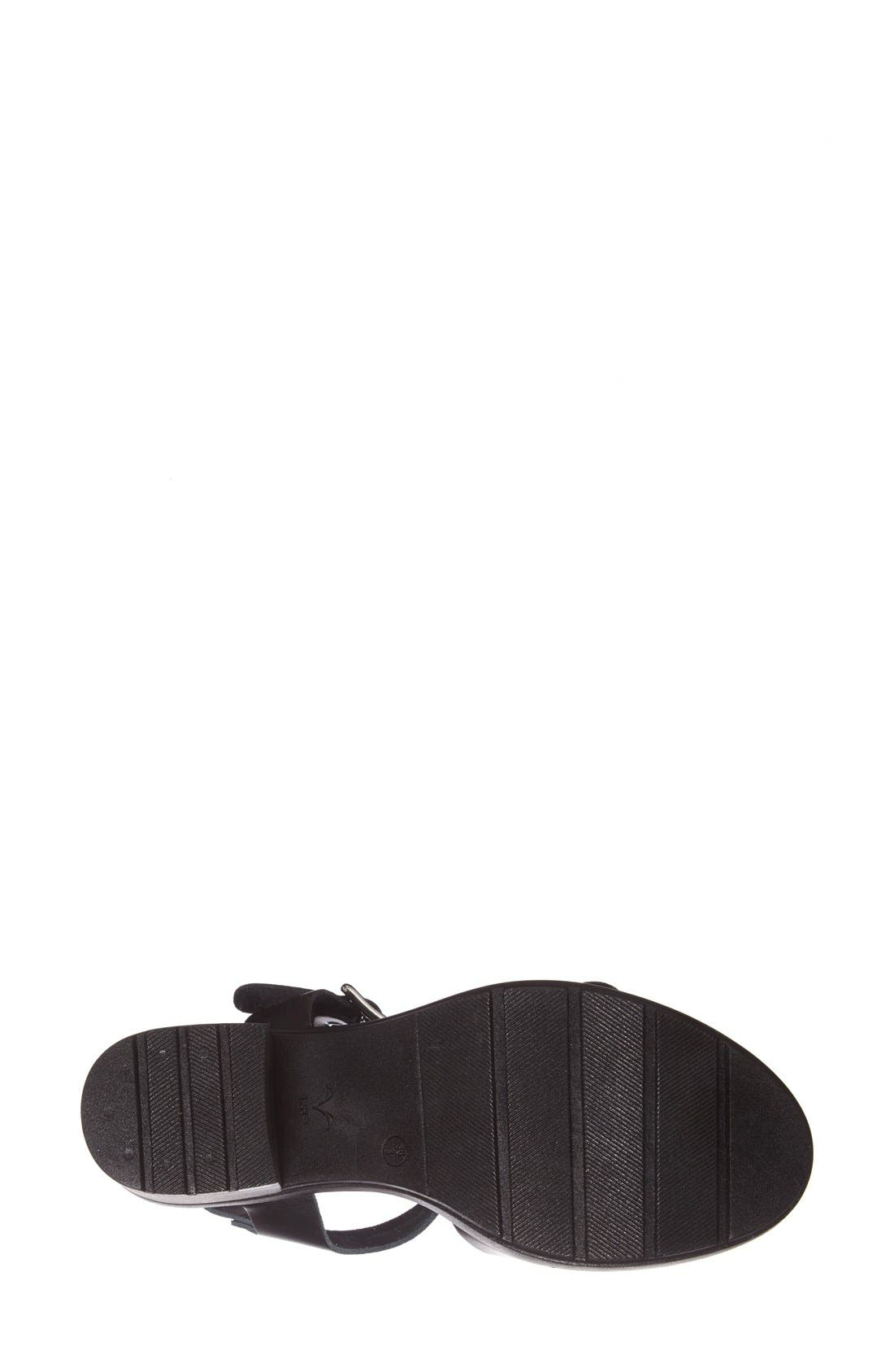 Alternate Image 4  - Topshop 'Niece' Platform Leather Sandal (Women)