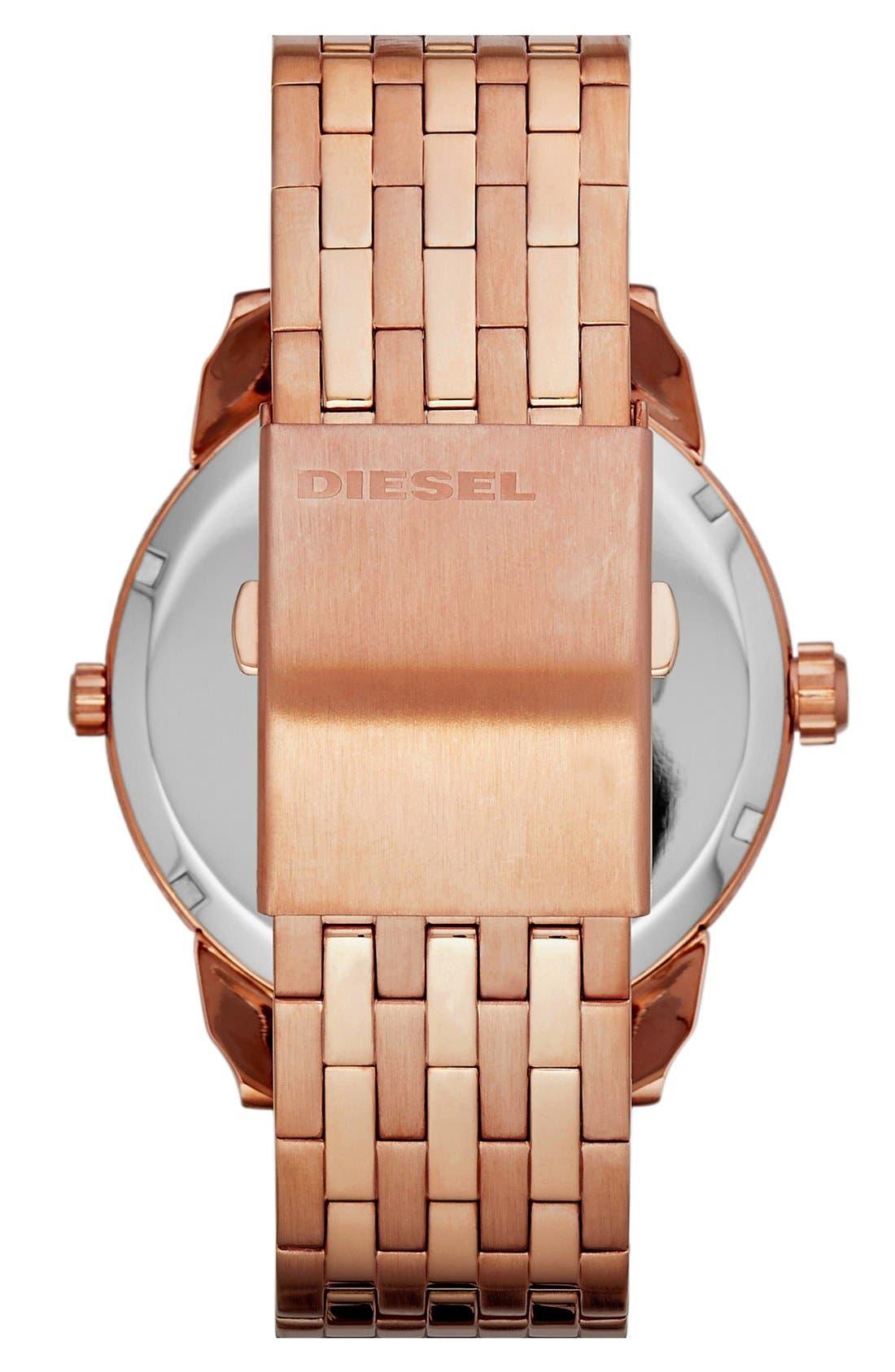 Alternate Image 2  - DIESEL® 'Mini Daddy' Multi Movement Bracelet Watch, 46mm