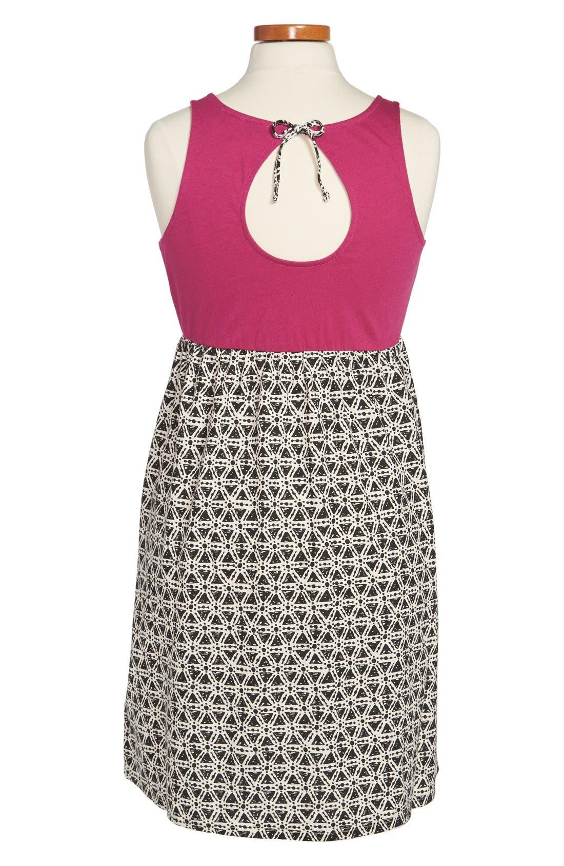 Alternate Image 2  - Roxy 'Beaming Shadow' Sleeveless Dress (Big Girls)