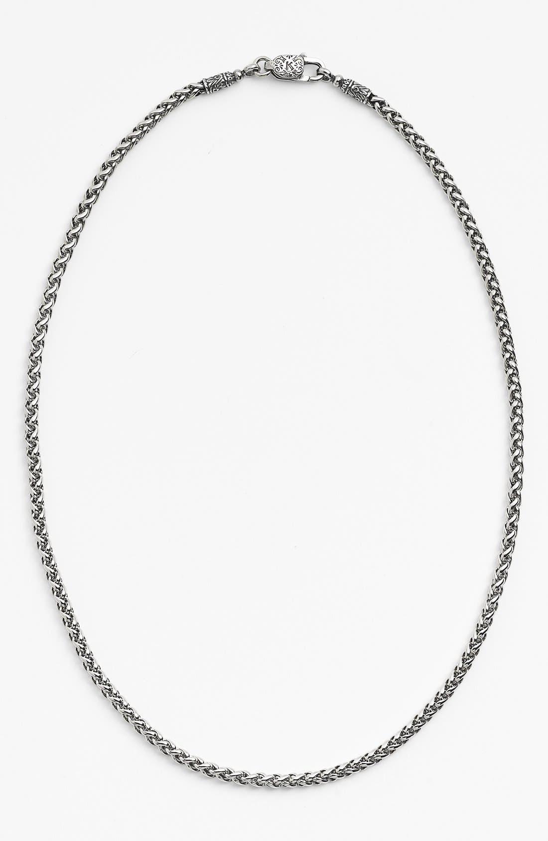 'Classics' Link Necklace,                         Main,                         color, Silver