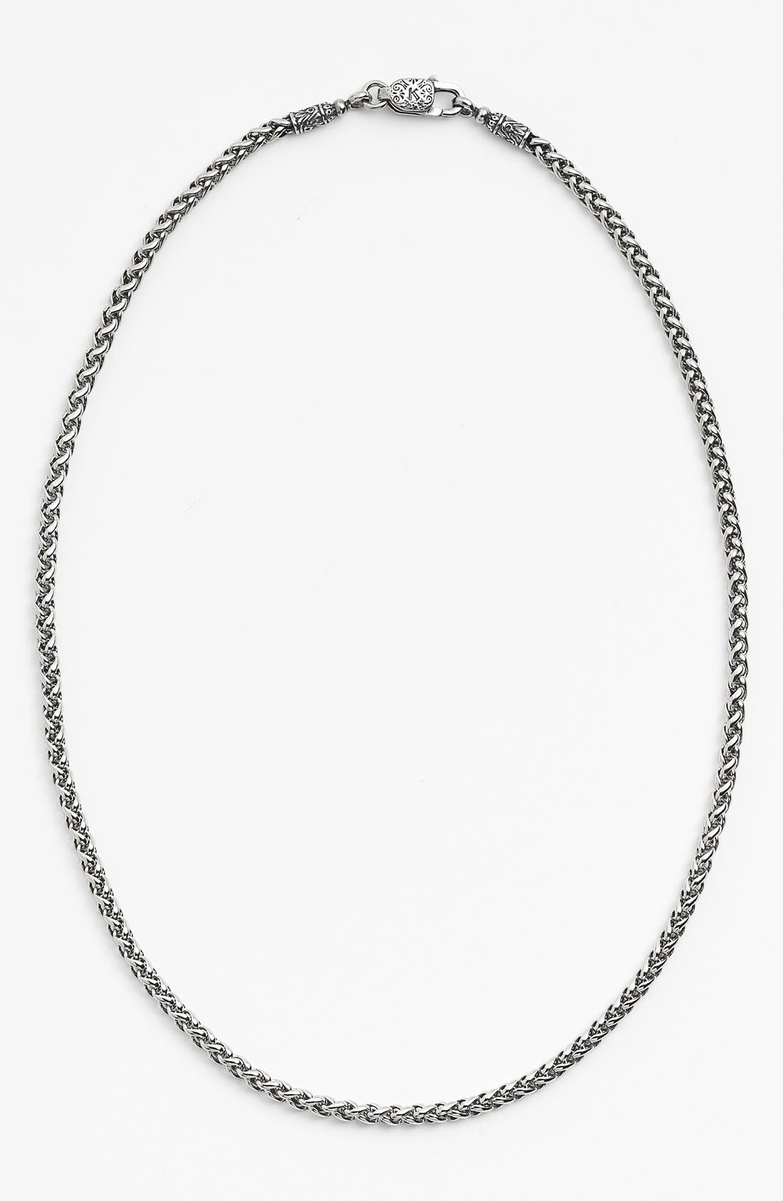 'Classics' Link Necklace,                         Main,                         color, Silver
