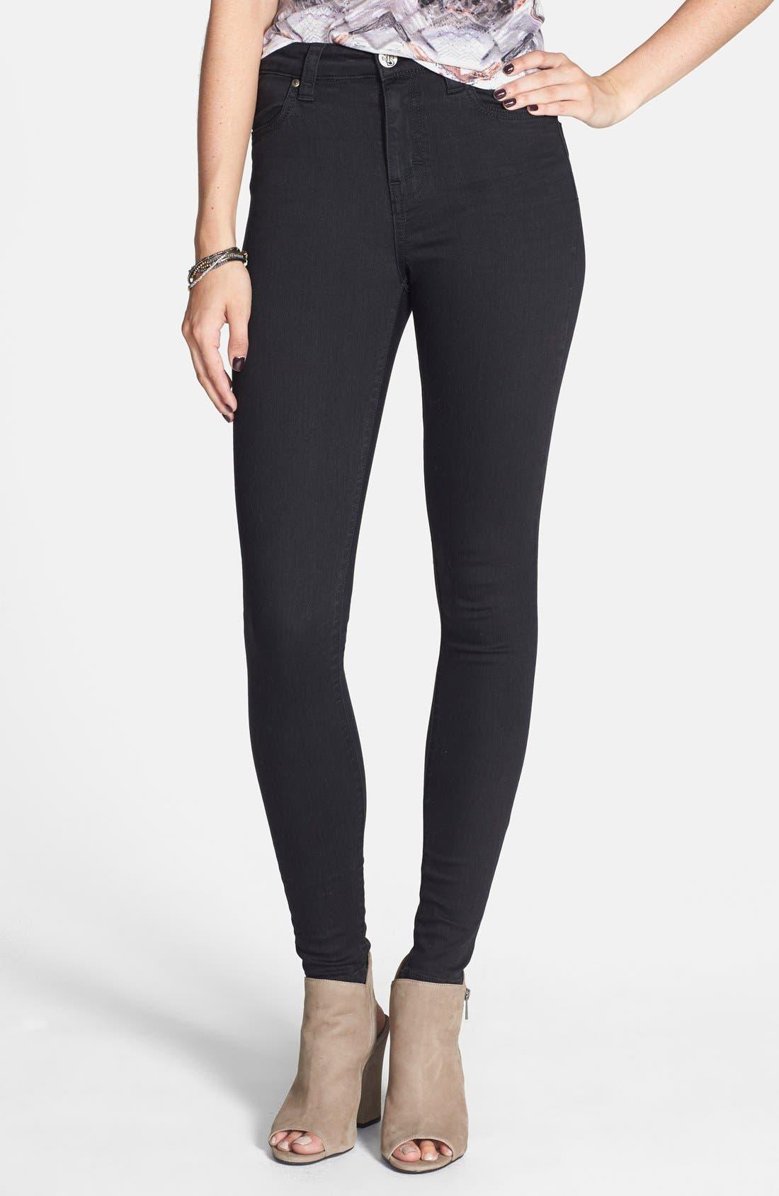 Alternate Image 1 Selected - STS Blue 'Elle' High Waist Skinny Jeans