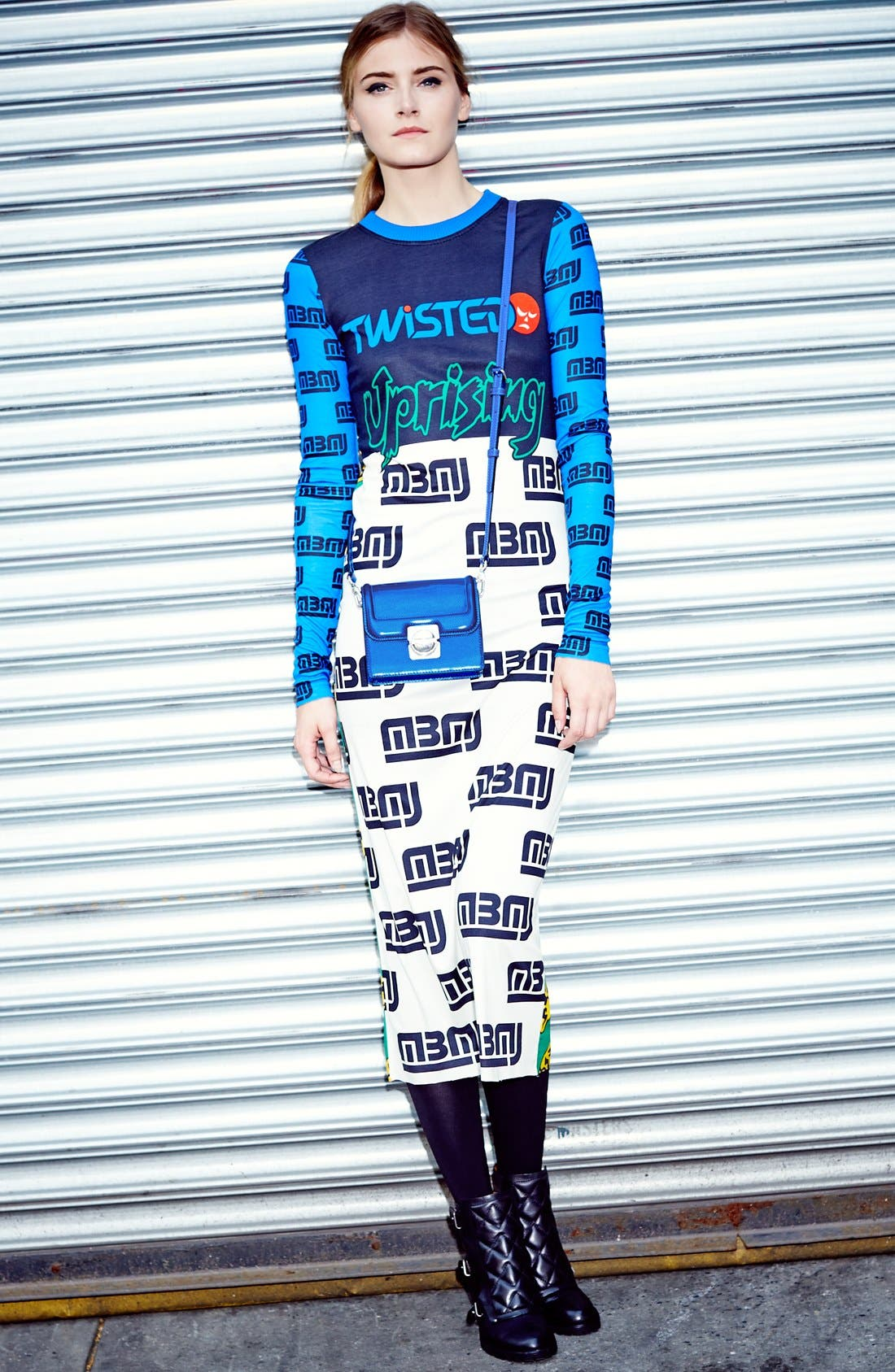 Alternate Image 4  - MARC BY MARC JACOBS Rally Motocross Uprising Dress