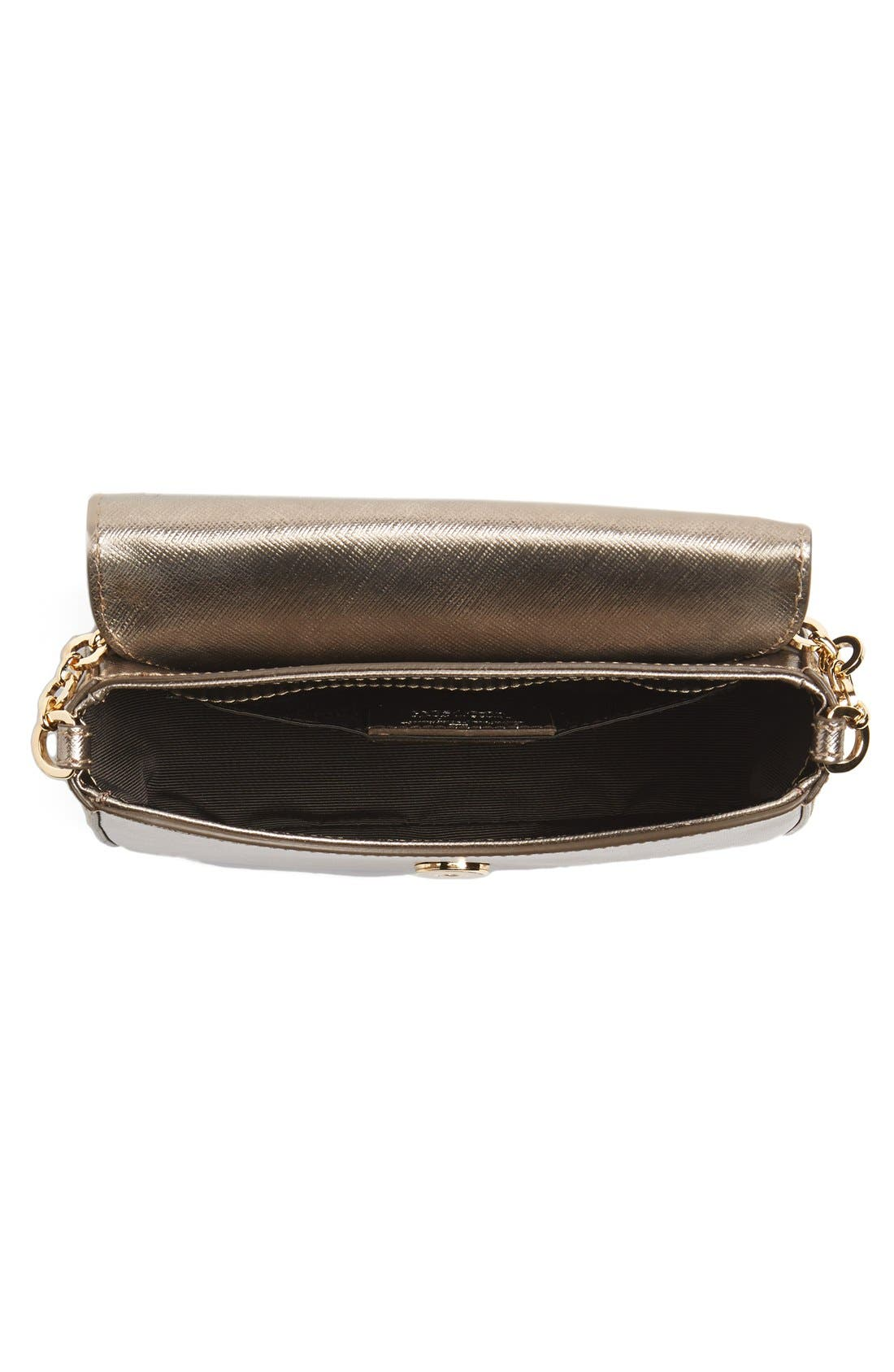 Alternate Image 3  - Salvatore Ferragamo 'Paris Chain' Saffiano Leather Shoulder Bag