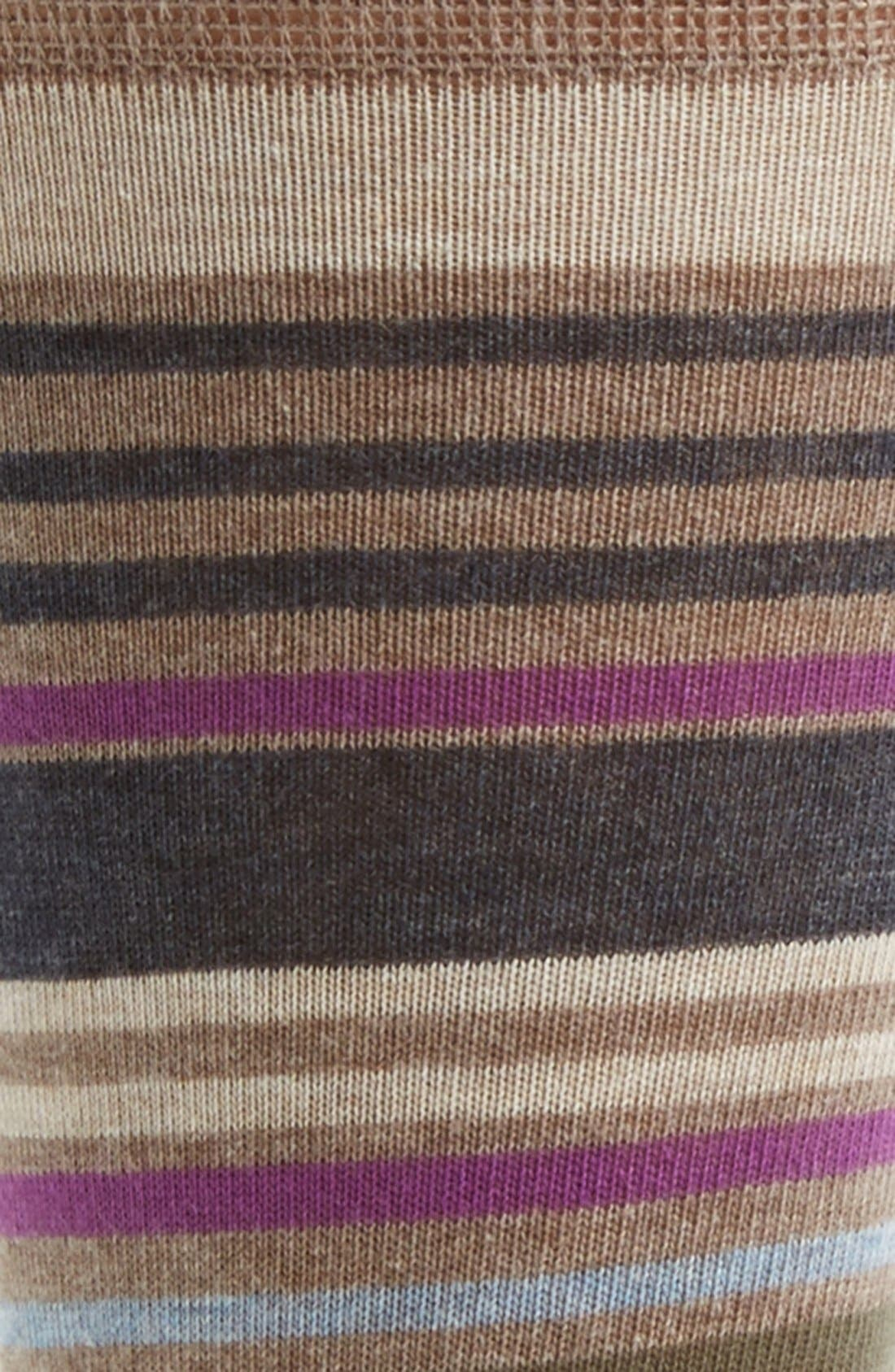 Alternate Image 2  - Nordstrom Cushioned Stripe Socks