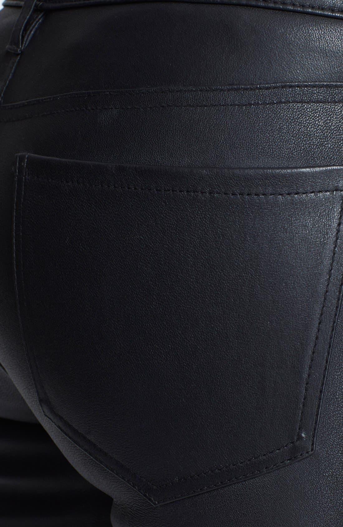 Alternate Image 3  - Joie Leather Skinny Pants