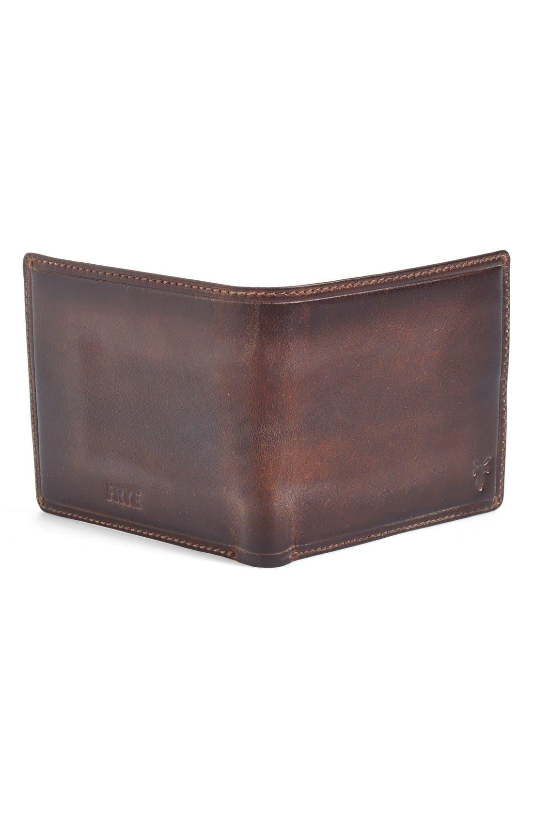 Alternate Image 3  - Frye 'Logan' Leather Billfold Wallet (Online Only)