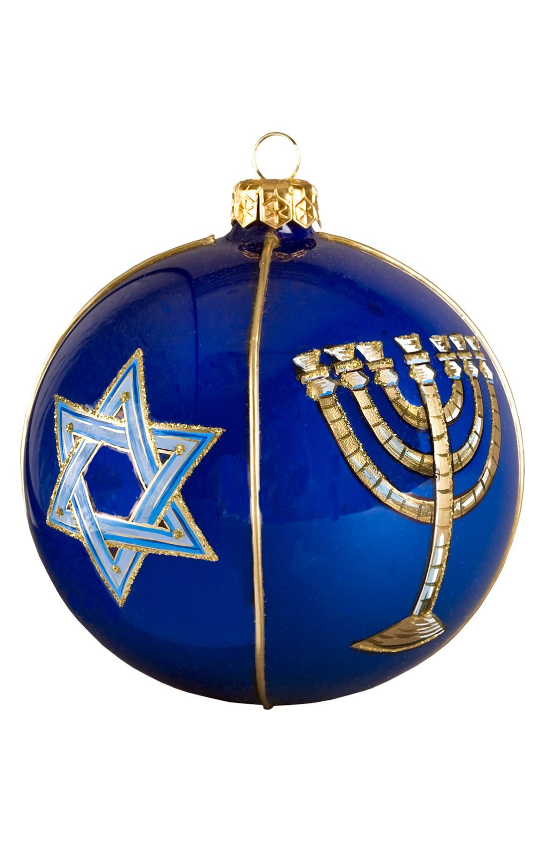 Joy to the World Collectibles 'Judaica' Round Ball Decoration