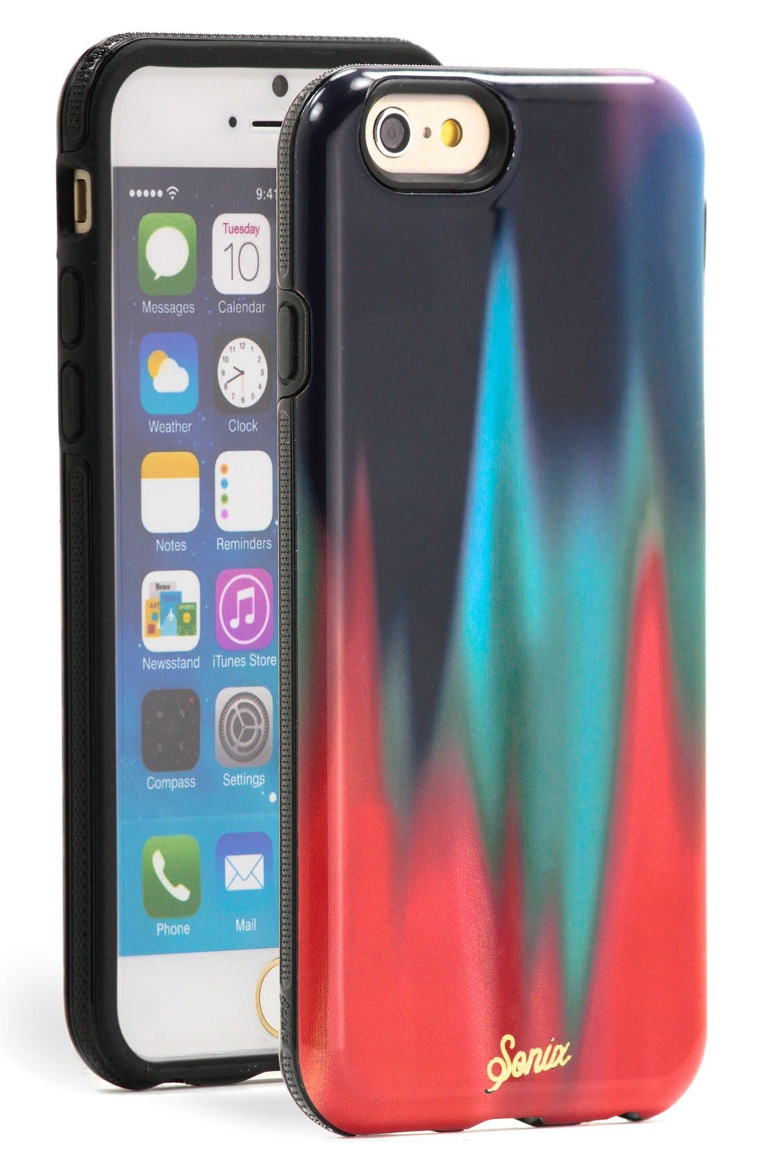 Alternate Image 1 Selected - Sonix 'Ombré Drip' iPhone 6 Case