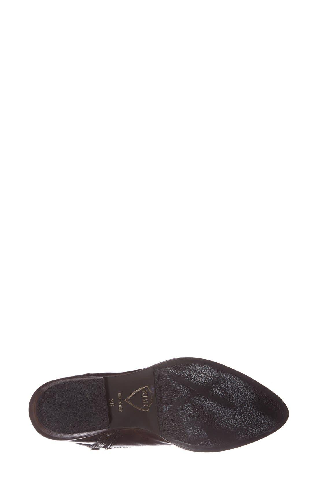 Alternate Image 4  - KBR Low Shaft Leather Boot (Women)
