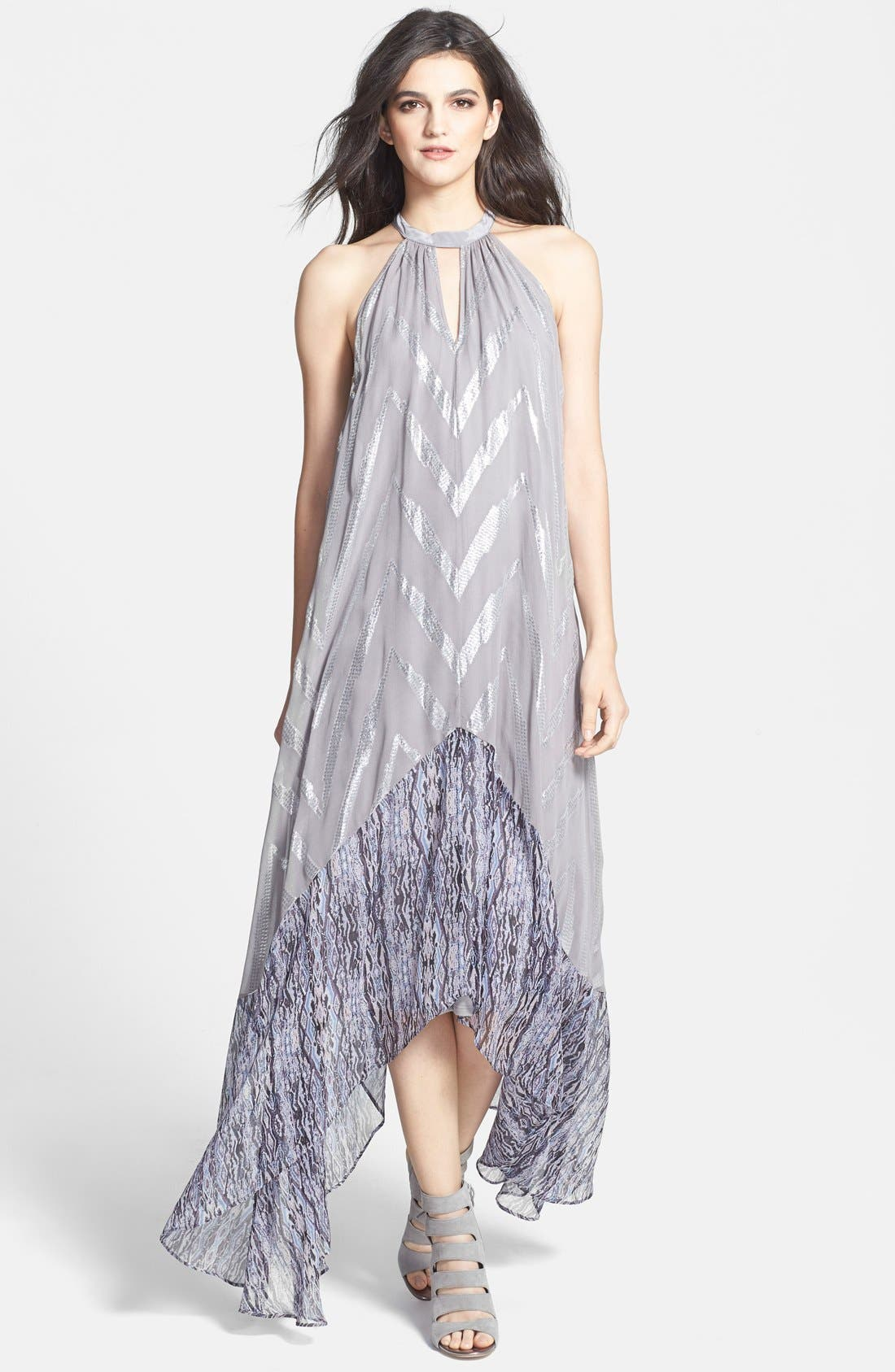 Alternate Image 1 Selected - Ella Moss 'Renaissance' Maxi Dress