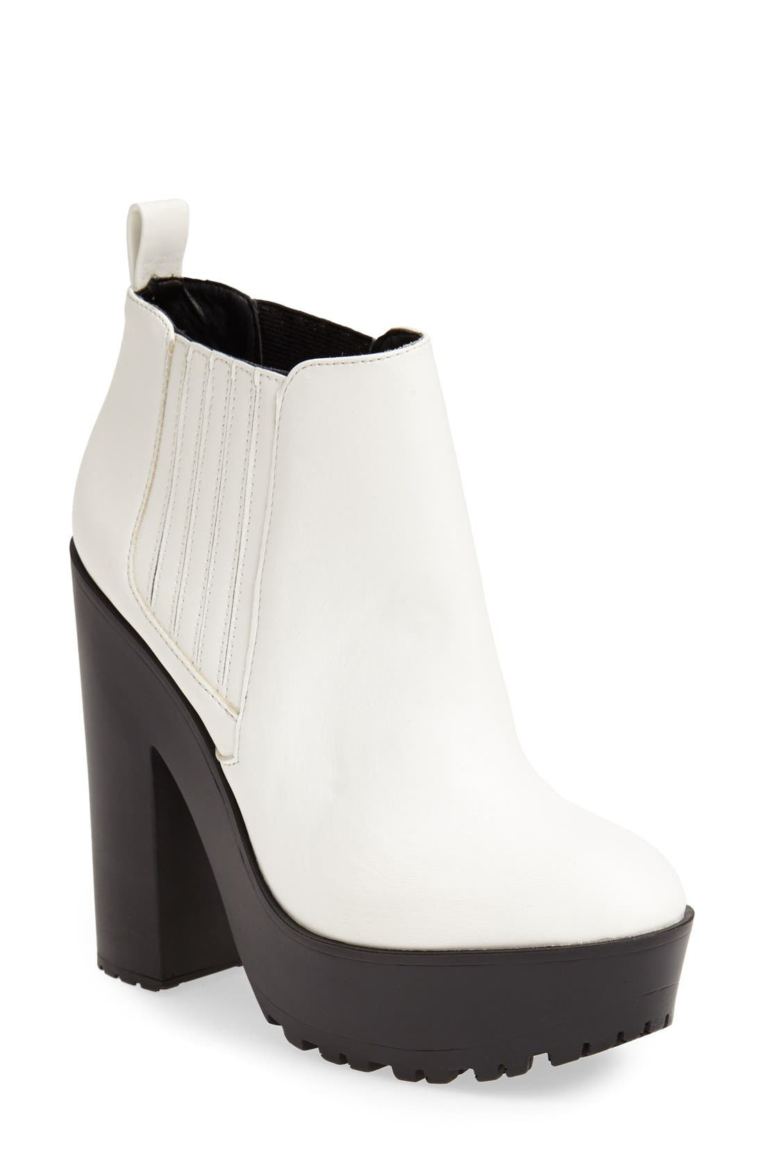 Alternate Image 1 Selected - KENDALL + KYLIE Madden Girl 'Chicc' Platform Bootie (Women)