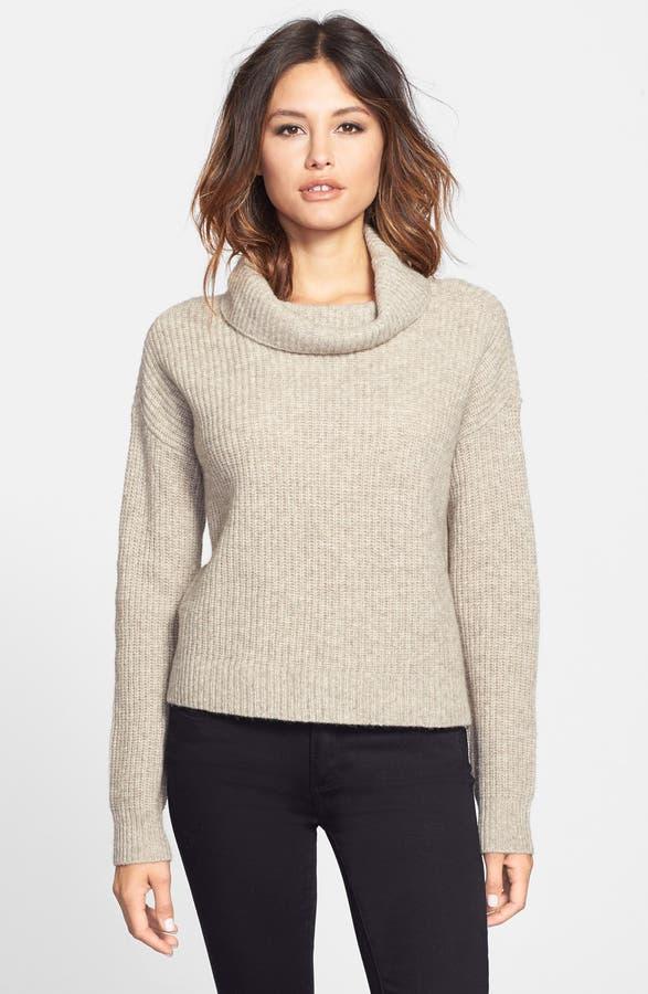 Eileen Fisher Yak & Merino Cowl Neck Sweater (Regular & Petite ...