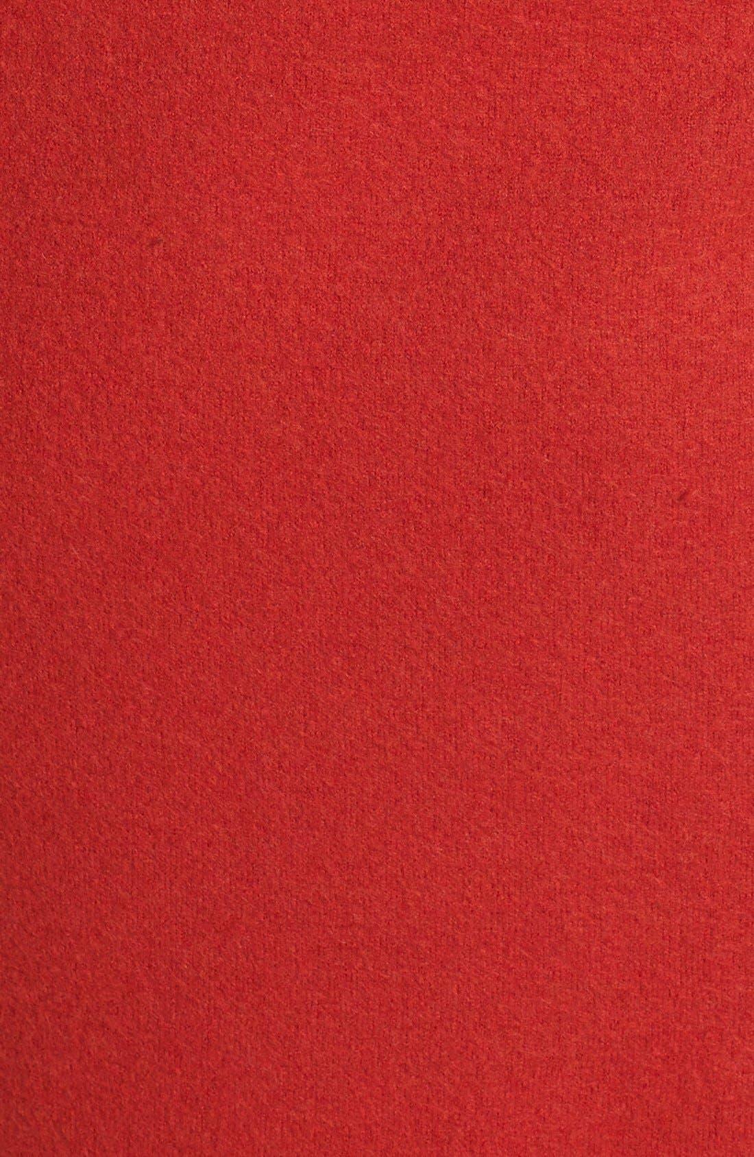 Alternate Image 3  - Eileen Fisher Boiled Wool Kimono Coat (Plus Size)