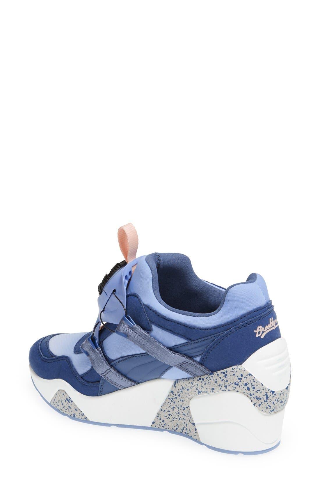 Alternate Image 2  - PUMA 'Disc Trinomic - Sophia Chang' Wedge Sneaker (Women)