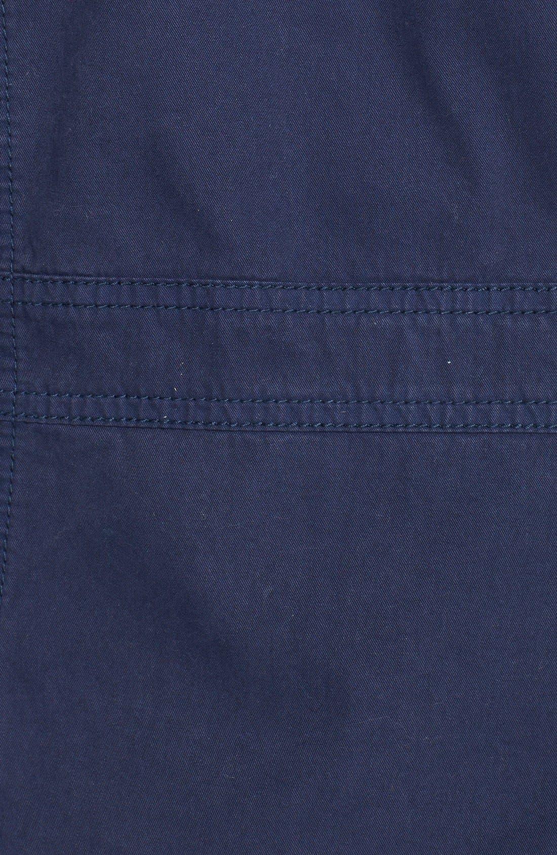 Alternate Image 3  - Caslon® Front Zip Field Jacket (Regular & Petite)