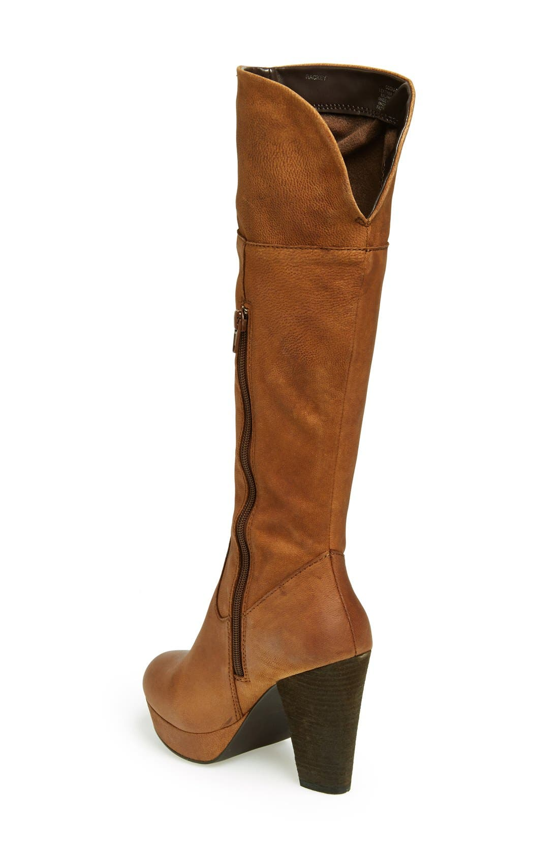 Alternate Image 2  - Steve Madden 'Rackey' Leather Platform Boot (Women)